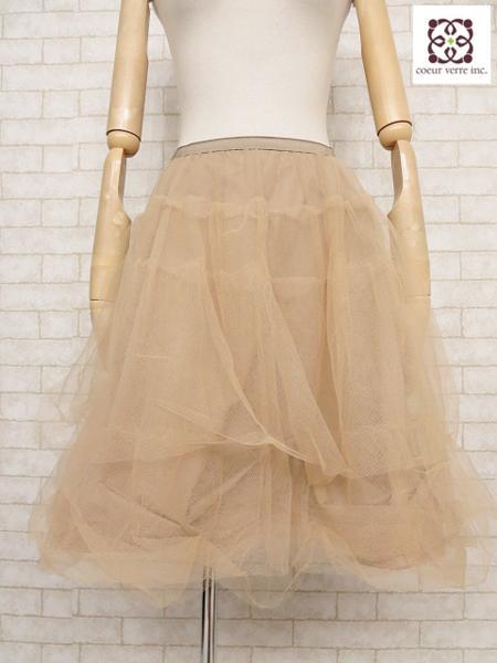 フォクシーニューヨーク FOXEY NEW YORK チュール スカート ご来店のお客様よりお買取り♪