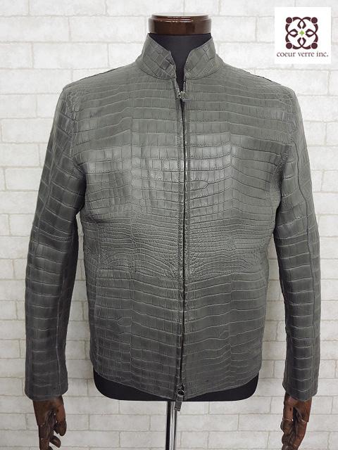 ジョルジオアルマーニ GIORGIO ARMANI ライダースジャケット ご来店のお客様よりお買取り♪