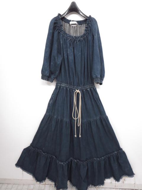 クロエ Chloe 16EDR04-16E152 デニム ロング ワンピース ドレス 宅配買取にてお買取り♪