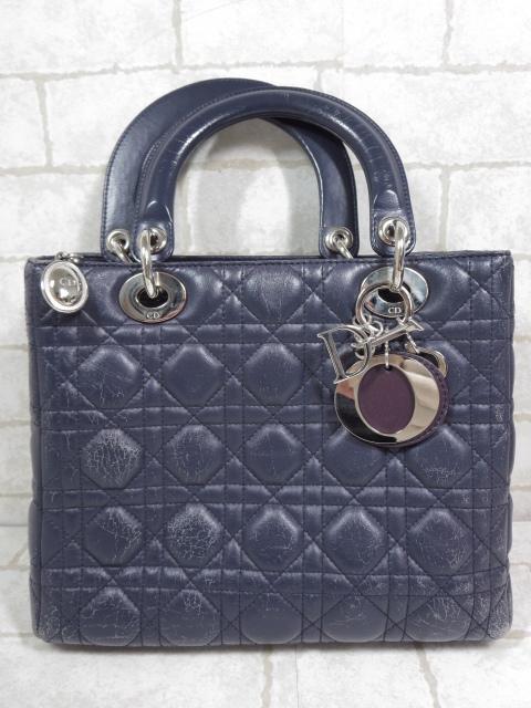 クリスチャンディオール Christian Dior レディディオール 2way ショルダーバッグ 宅配買取のにてお買取り♪